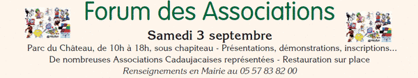 Programme du forum des associations